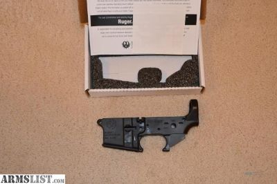 For Sale: Ruger AR-15 Stripped Lower