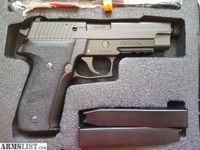 For Sale: Sig P226 MK25 threaded barrel.