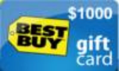 $1000 Best Buy Gift Card