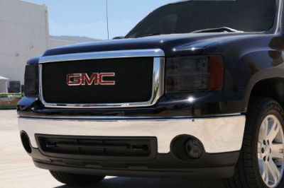 Buy 2007-2010 GMC Sierra 2500 3500 Upper Grill Small Sport Series Mesh Black 46207 motorcycle in Arlington, Texas, United States, for US $243.51