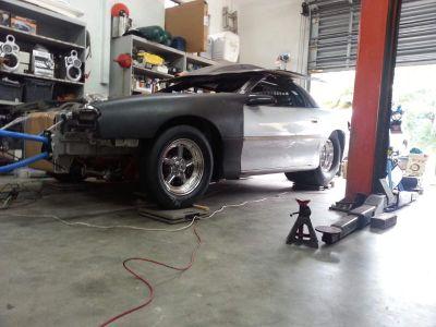 2002 Backhalf Camaro 4link, BBC, PG, Project 80% complete