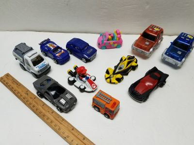 Lot of 11 Toy Cars/ Trucks $1 All