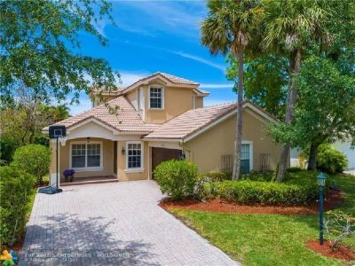 4-BED, 3-BATH HOME IN GUARD GATED PARKLAND ISLES.
