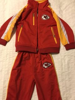 Chiefs Athletic Suit - Toddler