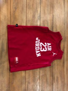Jordan red tank shirt size xs (4)