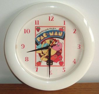 Midway Pac-Man Wall Clock Vintage Retro