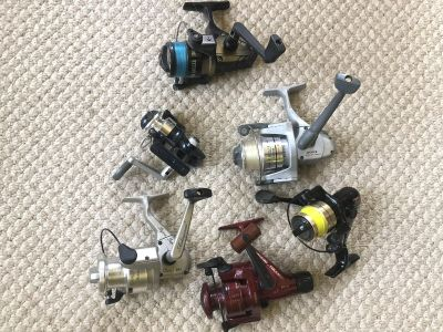 Fishing reels- new and unused