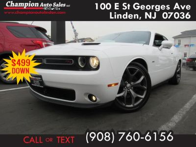 2015 Dodge Challenger 2dr Cpe R/T Plus Shaker (Bright White Clearcoat)