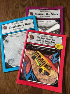 Book guides charlottes web number the stars magic school bus