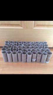 Empty toilet paper rolls - storage, organization, crafts