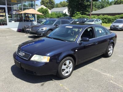 2001 Audi A6 2.7T quattro (Brilliant Black)