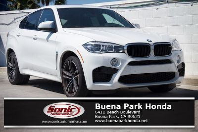 2016 BMW X6 M (Alpine White)