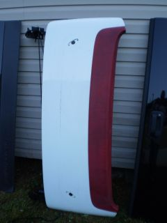 TRUNK LID 1986 1996 Corvette convertible deck lid OEM VETTE WHITE RED HINGES RODS