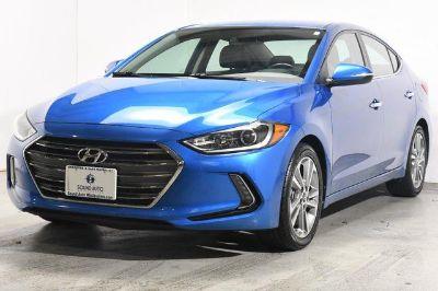 2017 Hyundai Elantra Limited w/Navigation (Electric Blue Metallic)