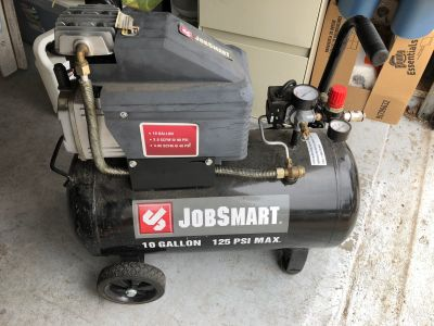 JobSmart Air compressor