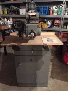 "Rockwell Delta Deluxe 10"" Radial Arm Saw"
