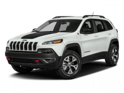 2018 Jeep Cherokee Trailhawk (Bright White Clearcoat)
