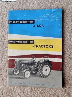 """Porsche Cars and Porsche Tractors"" Book"