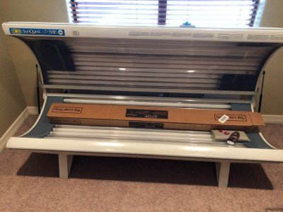 SunQuest Pro 26RST tan bed