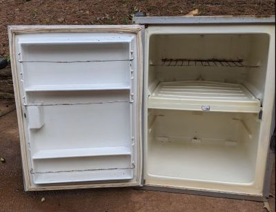 Icebox from vintage camper (insulated)
