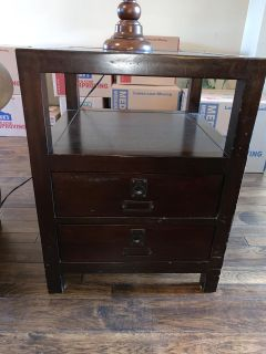 Pottery Barn end tables (2)
