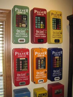 Wanted Pulver Chewing Gum Machines Top $$$