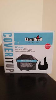 "NIB ~ Char-broil 65"" Grill cover ...$12"