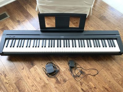 Yamaha full sized digital piano - almost new