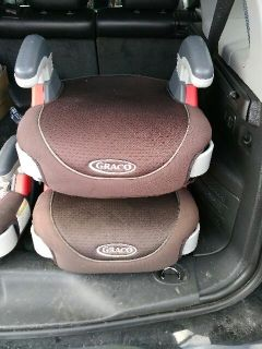 Graco boosters