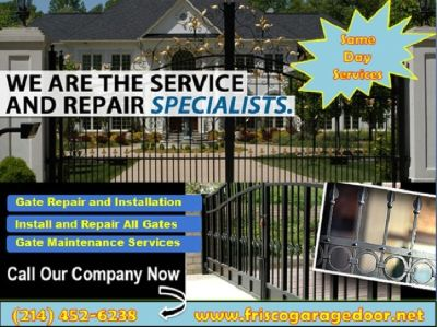 Call (214) 452-6238 for New Gate Installation Frisco, TX