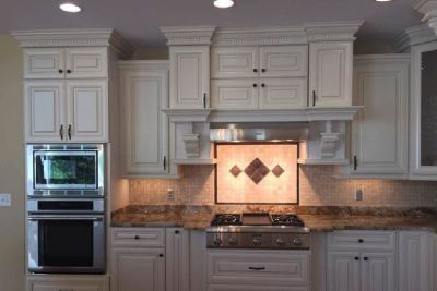 GEC Cabinet Depot for Stunning Vintage White Kitchen Cabinets