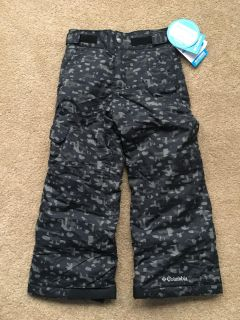 Columbia youth snow pants size XS new with tags