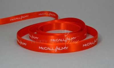 Full Color Printed Ribbon with logo as your Special Marketing Too