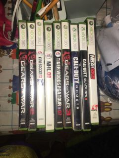 Xbox 360 games all work