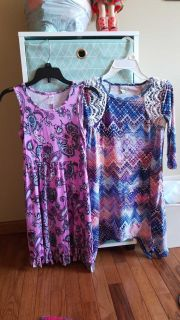 Girls size 10 Justice and Mudd dresses