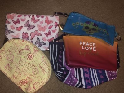 All for $2 makeup bags