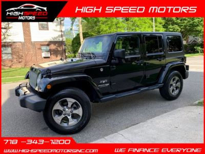 2018 Jeep Wrangler JK Unlimited Sahara 4x4 (Black Clearcoat)