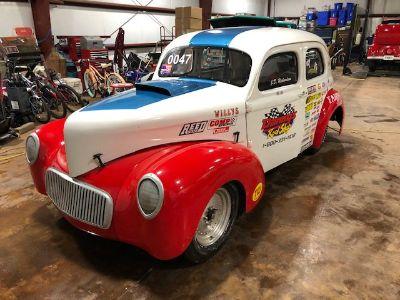 1940 WILLYS STEEL 2 DOOR SEDAN BEEN RACE CAR FOR 30 YEARS