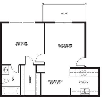 1 bedroom in Abilene