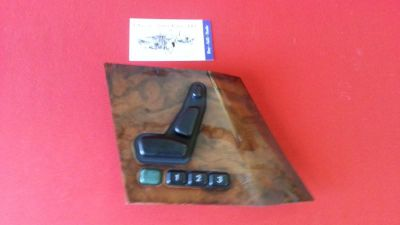 Sell MERCEDES BENZ R129 SEAT SWITCH WITH LIGHT WOOD BEZEL FOR RIGHT (Passenger) DOOR motorcycle in Cape Coral, Florida, US, for US $78.00