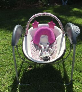 Graco Baby Swing also plays music