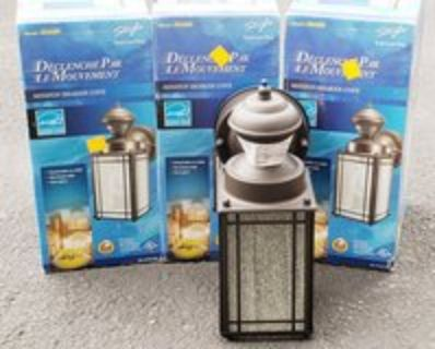 Coach Lights Set of 3 Security lights/Motion Activated