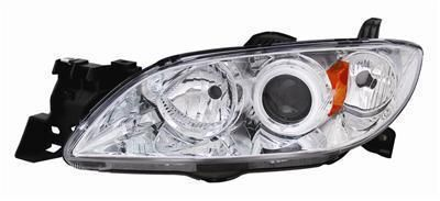 Sell Anzo Headlights 121211 Projector With CCFL Halo Chrome Housing 2004-2007 Mazda 3 motorcycle in Tallmadge, Ohio, US, for US $299.97