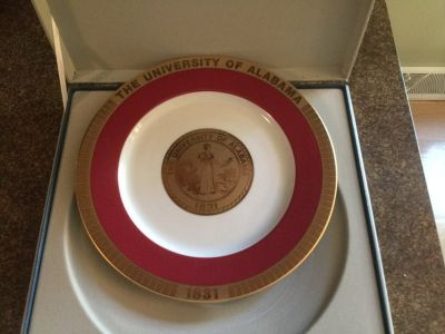 Alabama Crimson Tide Plate