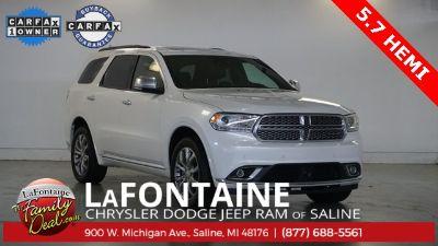 2018 Dodge Durango Citadel (white)