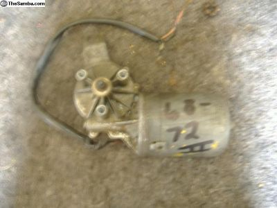 VW Bus wiper motor 68 - 72 yr 211 113 H