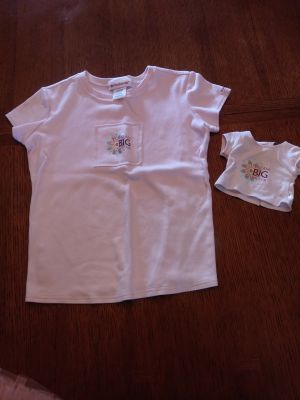 American Girl matching shirts for girl & doll
