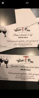 wine and pine gift certificate
