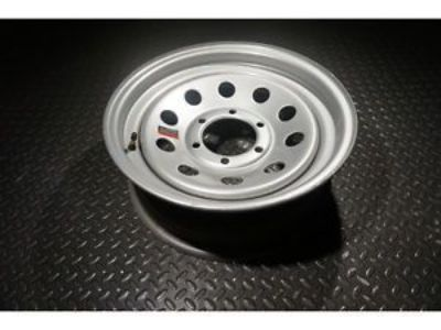 Buy 16 Trailer Wheel - Silver Mod - 8x6.5 motorcycle in Madisonville, Texas, United States, for US $44.99