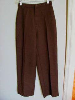 Brown long pants size small